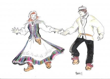 Tegning-av-dansende-kvener