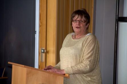 Leder i NKF, Anne-Gerd Jonassen.