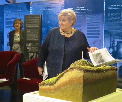 Erna Solberg markerte Kvenfolkets dag
