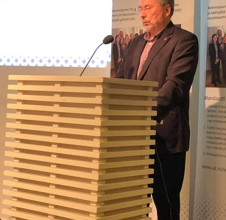 Tale på Sannhets- og forsoningskommisjonens åpne møte i Oslo 22.november