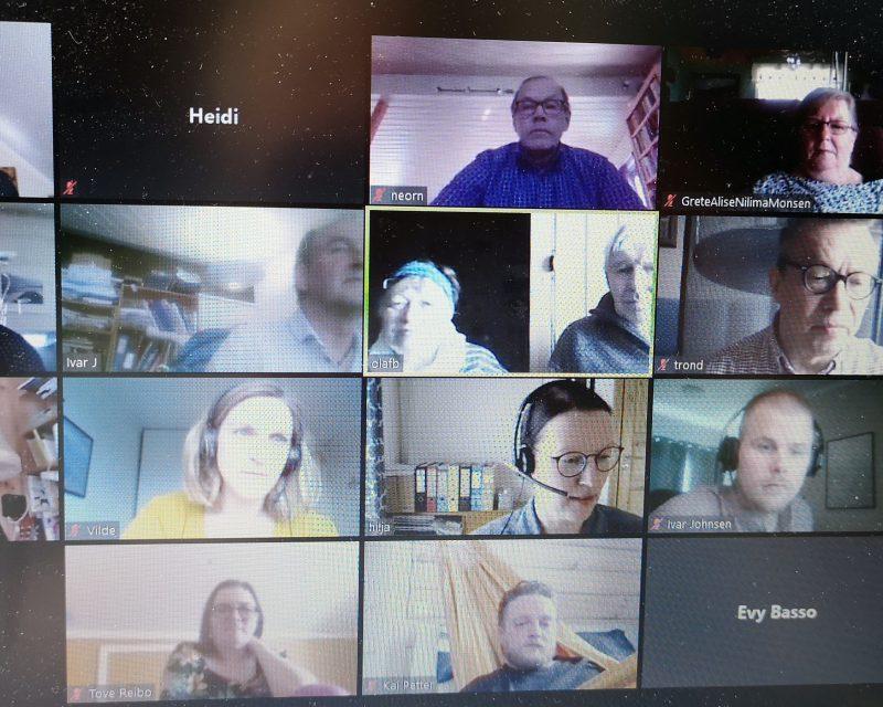 Landsstyremøtet ble holdt digitalt