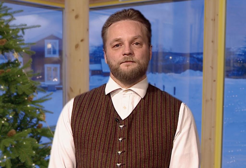Kai Petter holder kvensk nyttårstale