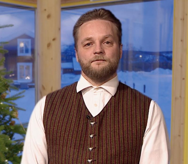 Leder i NKF-RK holdt en kvensk nyttårstale på NRK2