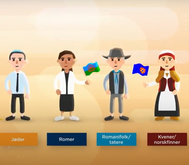 Nytt e-læringskurs om samer og nasjonale minoriteter