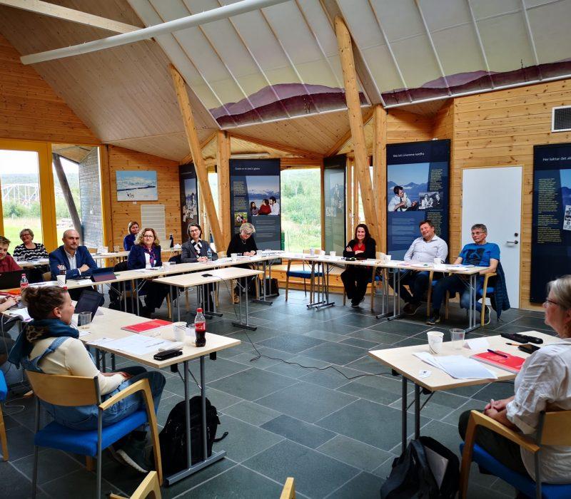 Møte med ekspertkomiteene fra Europarådet