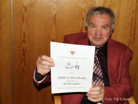Oddvar Askjel Ørnebakk – en kvenkjempe fyller 85 år!